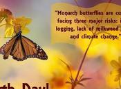 #EarthDay #Arpil22 2017 #MonarchButterfly #ClimateChange