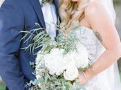 Beautiful Green White Wedding Chicago