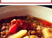Instant Spanish Lentil Soup (Lentejas)