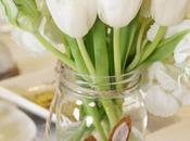 Simple White Easter Christening