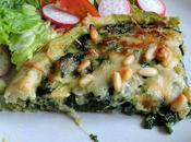 Spinach Gruyere Tart