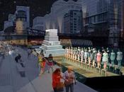 Chicago River Float Will Show Movies Concerts