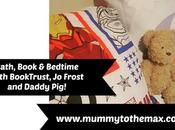 Bath, Book Bedtime with BookTrust, Frost Daddy Pig!