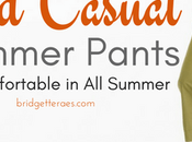 Relaxed Casual Summer Pants