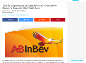 Worthy Reads: Arguments Craft Beer Sell-Outs: Brewery Buyouts Hurt Vorel Paste Magazine