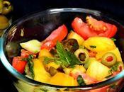 Pineapple Cucumber Tomato Salad