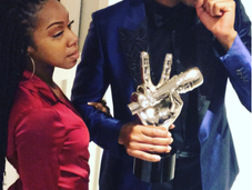 Voice Winner Chris Blue Give Fiancee' Wedding Dreams