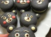 Charcoal Macarons