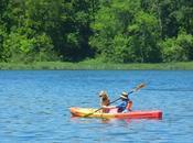 Kayaking Hartman Creek S.P.