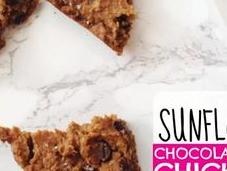 Sunflower Chocolate Chip Chickpea Bars (gluten Free, Vegan)