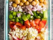 Meal Prep Chopped Chickpea Salad
