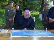 Jong Observes Guides Ballistic Missile Test