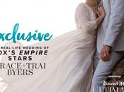 Christian Couple Trai Grace Byers Show Wedding Photos Caymen Magazine Talk Faith, Love Marriage