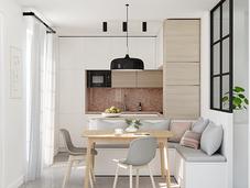 PORTFOLIO: Small Kitchen Design (before&after)