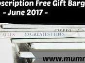 Magazine Subscription Free Gift Bargains June 2017