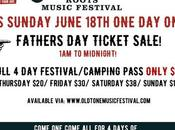 Oldtone Father's Ticket Sale!