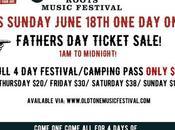 Oldtone Father's Ticket Sale!