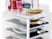 Makeup Organization with Organizers Ideas Storage