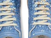Stir Crazy Blues: Maison Martin Margiela Replica Paint-Splattered Suede Leather Sneakers