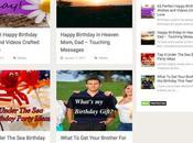 Birthday Tips Niche WordPress Blog