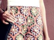 Duty Style Shoulder White African Ankara Pants