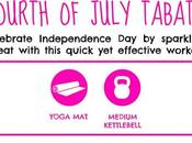 Fourth July Tabata Workout