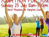 Delighted Present 'Yogathon You' Open Summer Yoga Event July