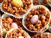 Choco Crispy Rice Nests
