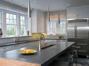 Kitchen Renovation with Soapstone Sinks Countertops