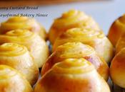 Creamy Custard Bread 卡士达面包 (65C Tangzhong Method)
