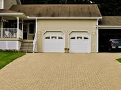Various Common Types Driveways Used Residential Buildings