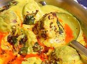 Palak Pakoda Kadhi Punjabi Pakora Recipe