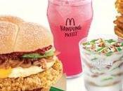 "Nasi Lemak Burger Sold Out! ""made Singapore"" Menu Nsmen Free Apple Fudge Sundae!"