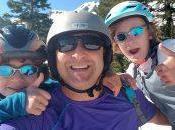 Snowboarding July