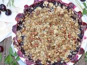 Cherry Wine Granola Crisp