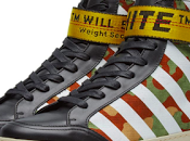 Fashion's Play These Streets: Off-White Diagonal Camo Hi-Top Sneakers