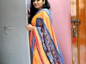 OOTD with Triveni Silk Madhubani Collection Rakhi Special