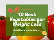 Best Vegetables Weight Loss High Fiber Calorie