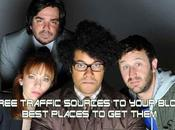 Free Traffic Sources Your Blog: Best Places Them