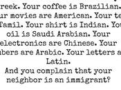 Immigrants Your Life?