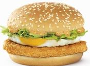 Return Beef Burger with Introducing All-new Black Pepper Mayo Chicken Burger!!