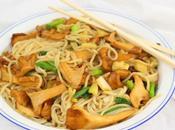Chanterelle Roasted Garlic Butter Noodles