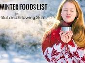Best Winter Foods List Beautiful Glowing Skin