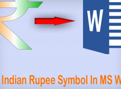 Type Indian Rupee Symbol Word