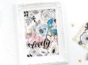 Crate Paper Design Team Lovely Altered Frame