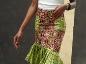 Ankara Style Simple Skirt