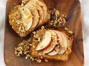 Best After School Snacks #SundaySupper: Apple Granola Cookie Butter Toast