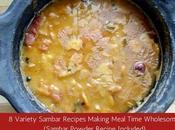 Sambar Recipes Kids Savour (Sambar Powder Recipe Included)