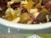 Beet Salad with Apples, Grapes Walnut Vinaigrette