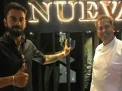 Virat Kohli Launched restaurant-Nueva Can't Keep Nerves Together!